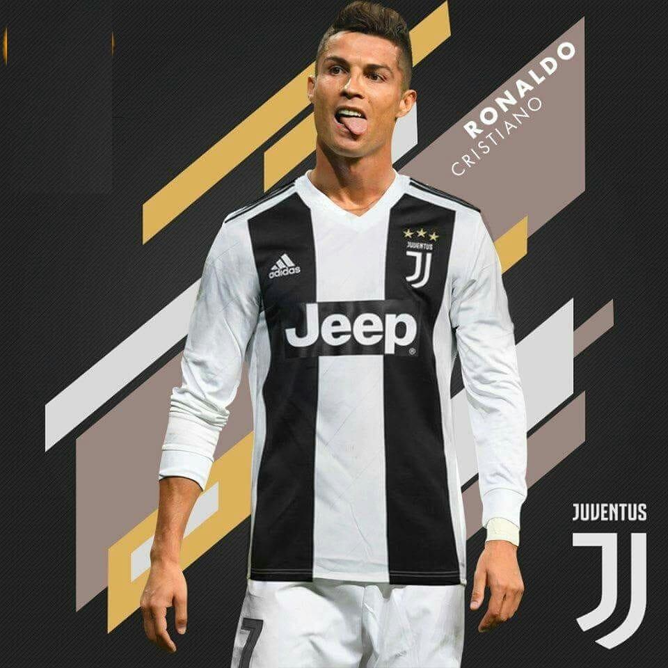 hình ảnh Ronaldo Juventus