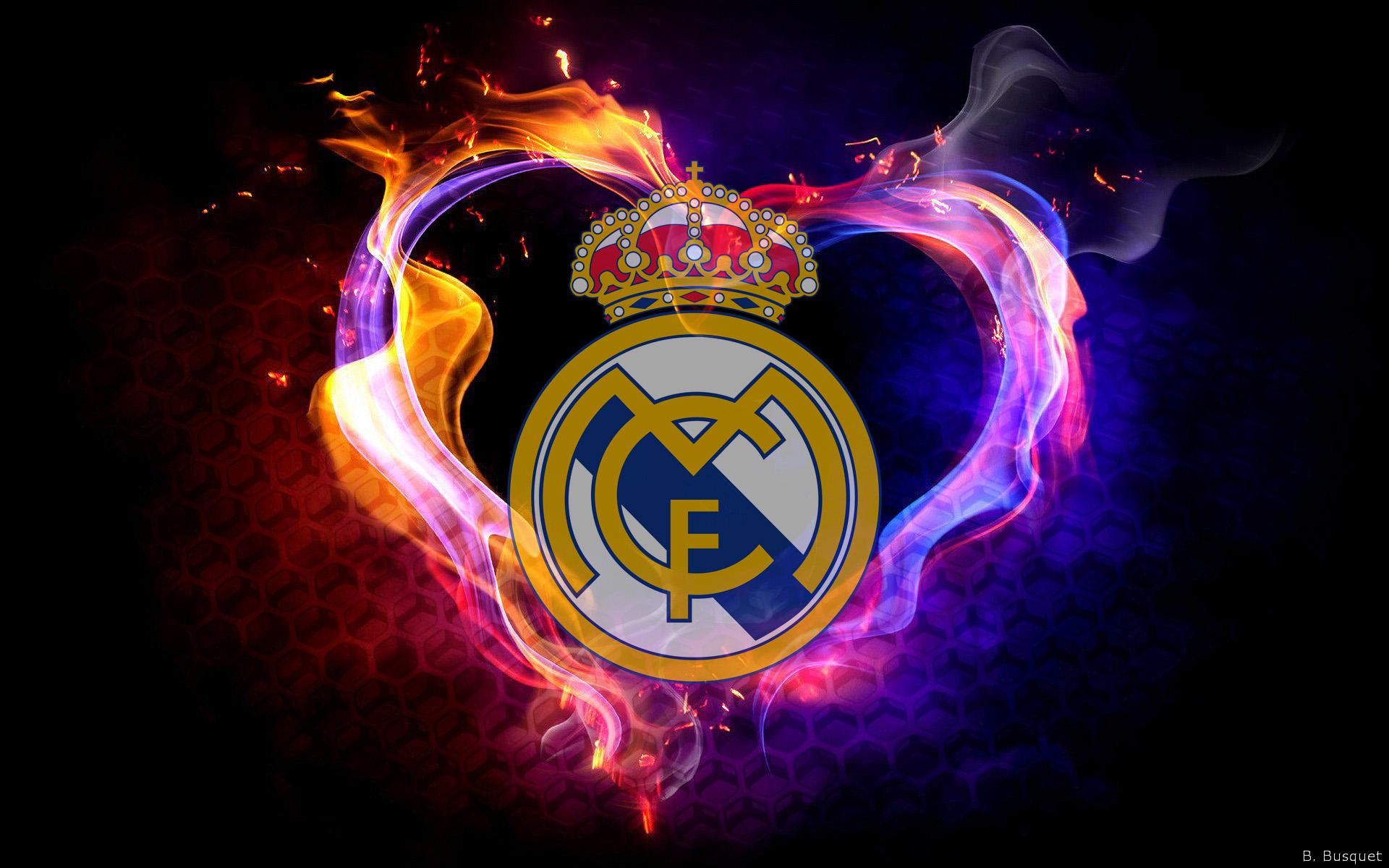 tải hình nền bóng đá logo Real Madrid