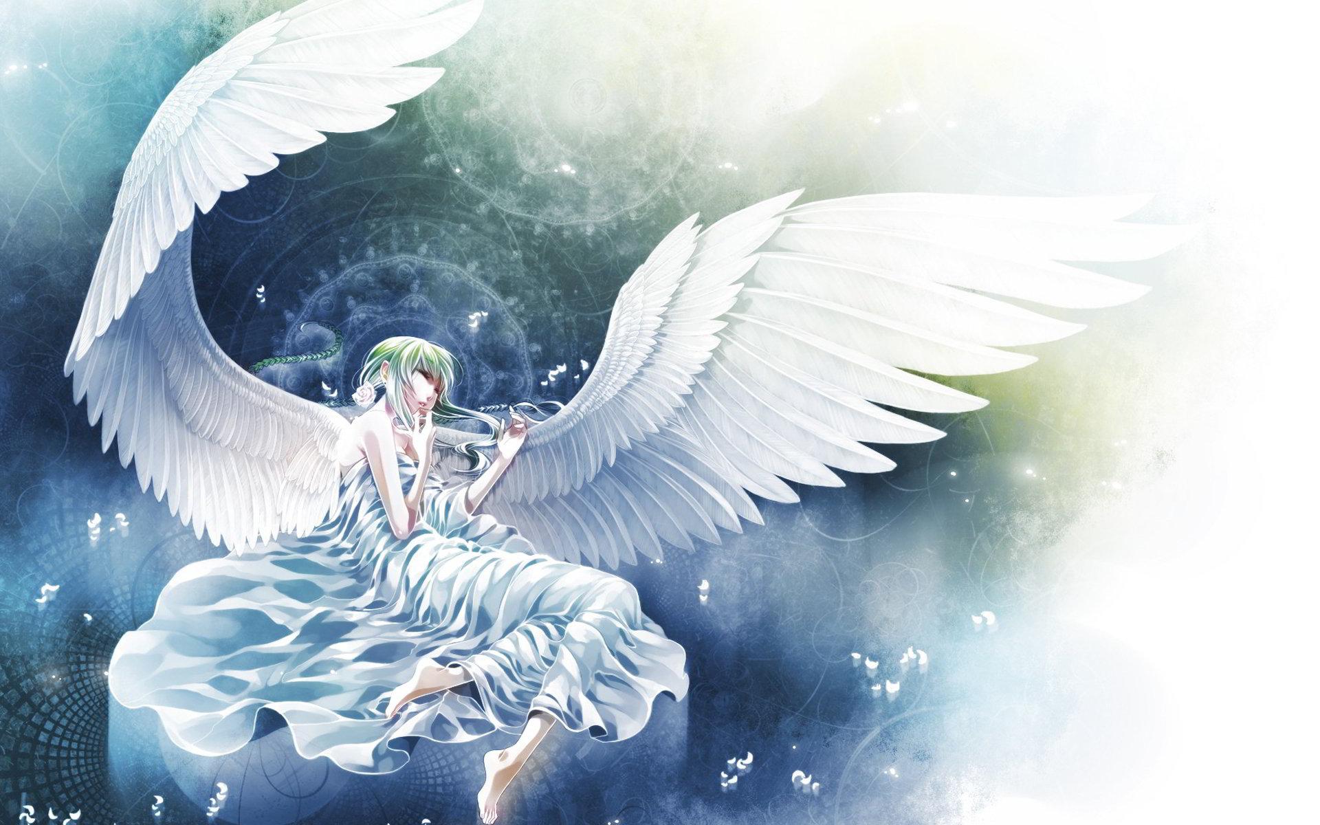 Tải hình nền anime thiên thần đáng yêu