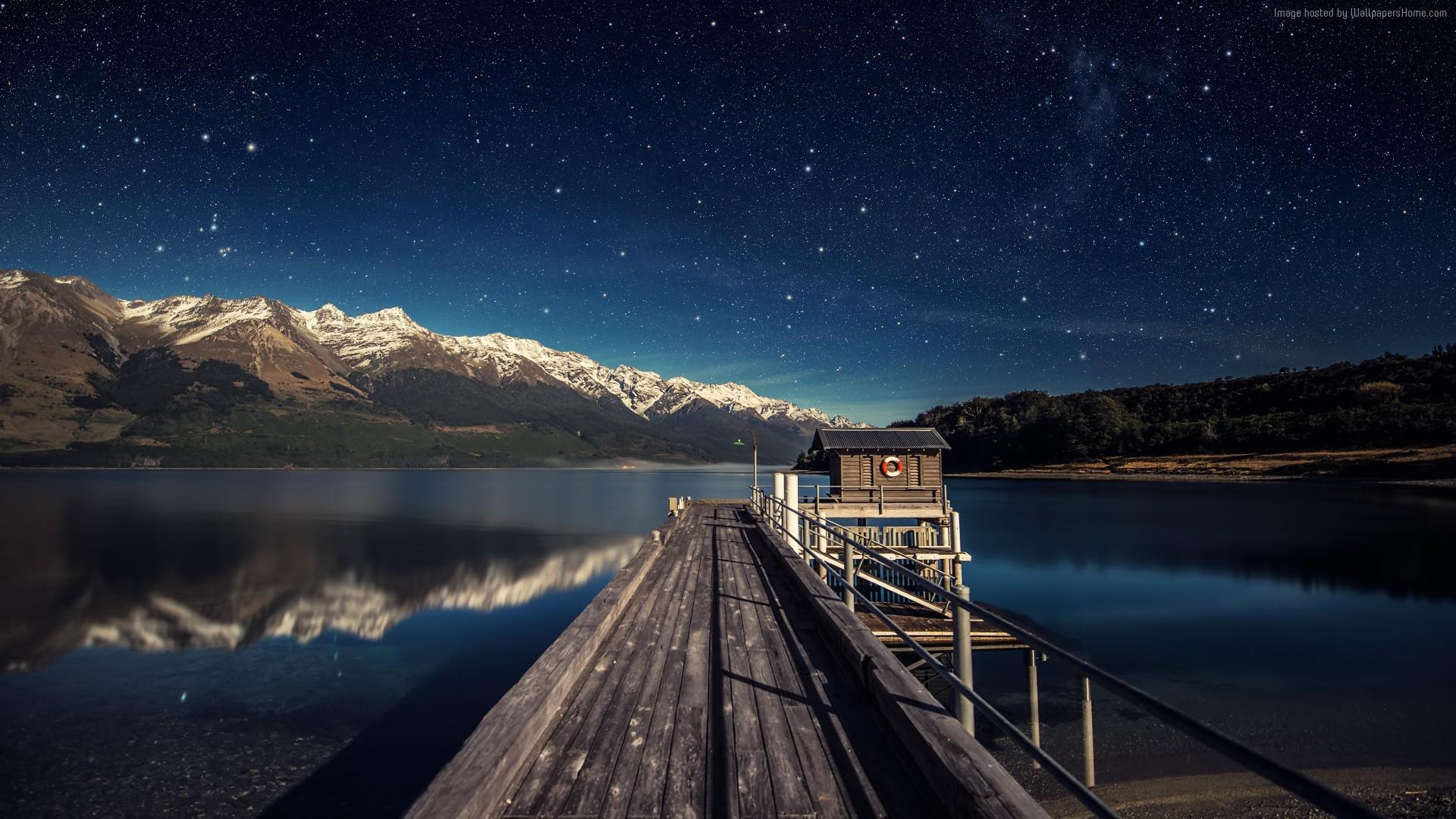 hình ảnh bầu trời đêm