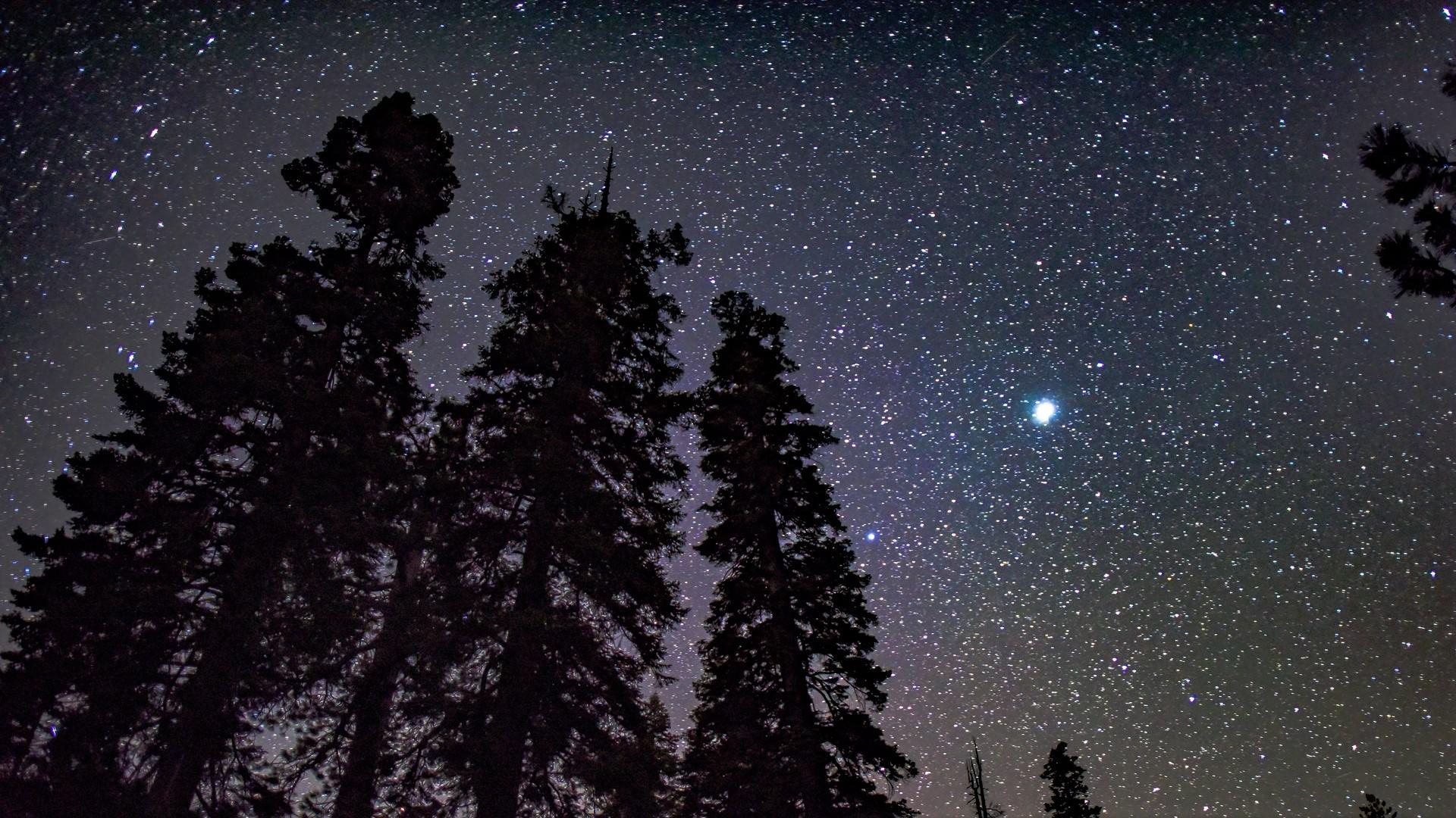 xem ảnh sao đêm lấp lánh