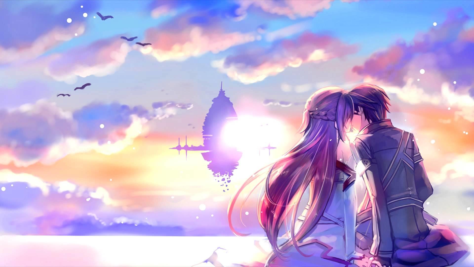 Bộ sưu tập hình nền Anime về tình yêu đẹp lãng mạn nhất thế giới