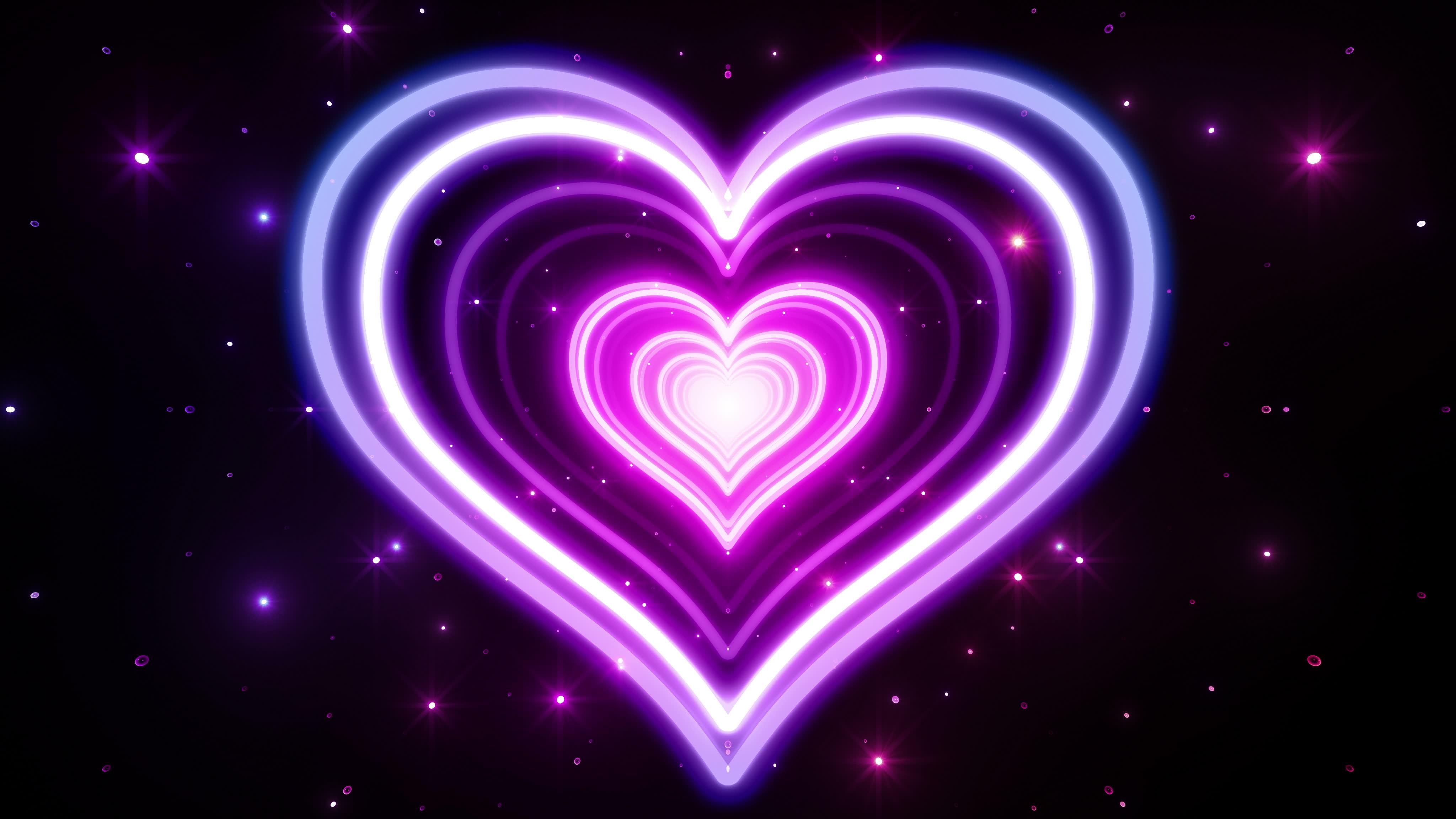 ảnh nền trái tim HD