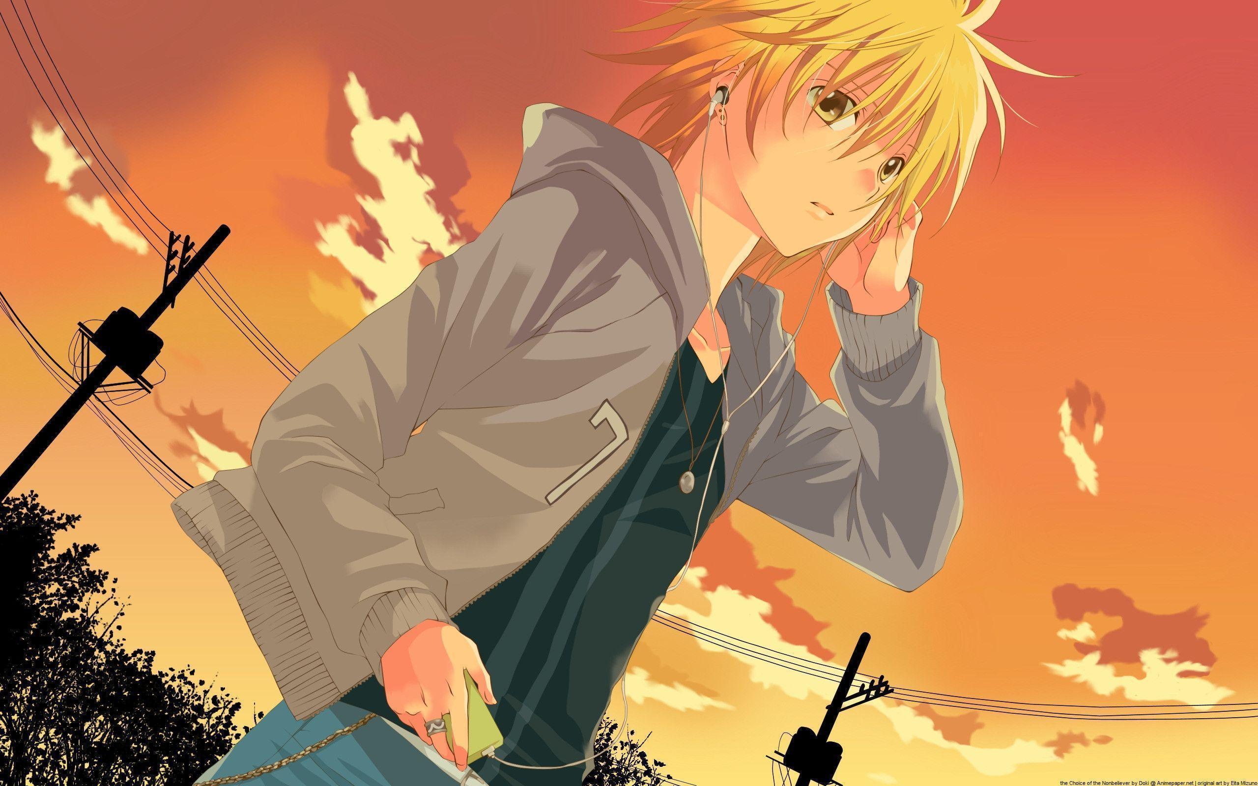 Hình ảnh Anime Boy Cute lạnh lùng dễ thương 2