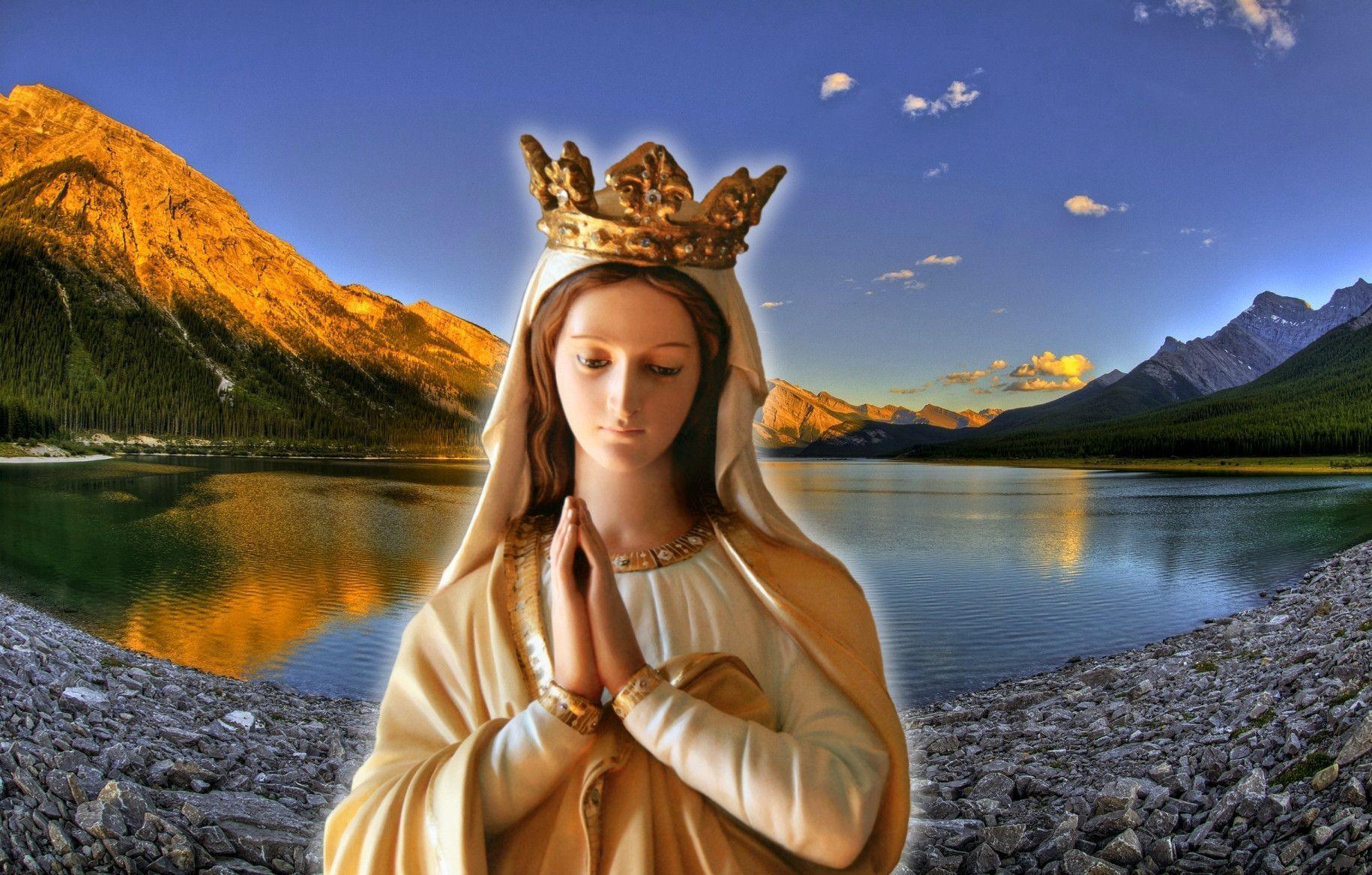 ... ảnh Công giáo đẹp. tai anh Maria