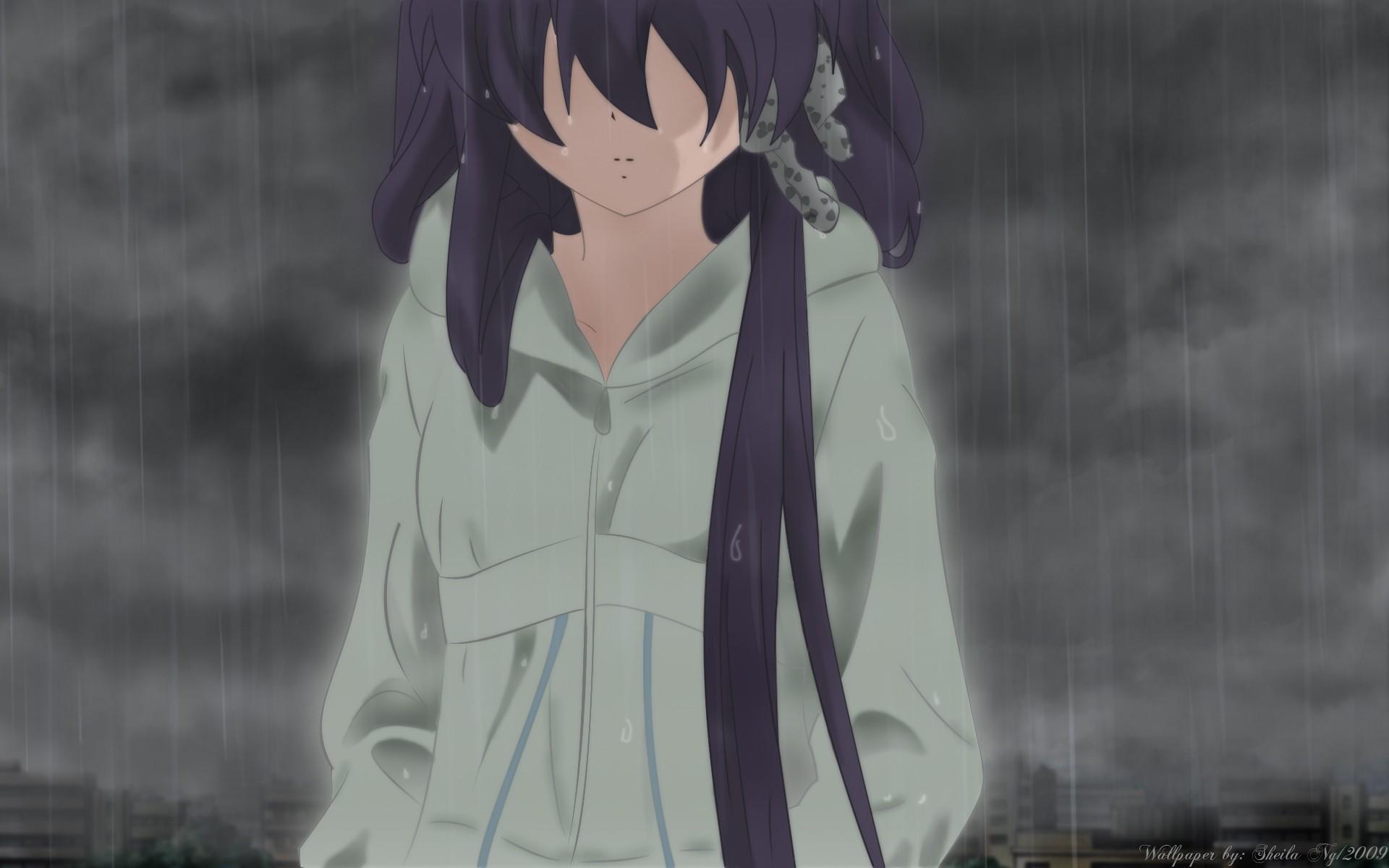 Trên đây là bộ hình nền Anime chất lượng sắc nét và ý nghĩa sâu sắc, diễn tả tâm trạng buồn khóc, cô đơn nhất của con người.