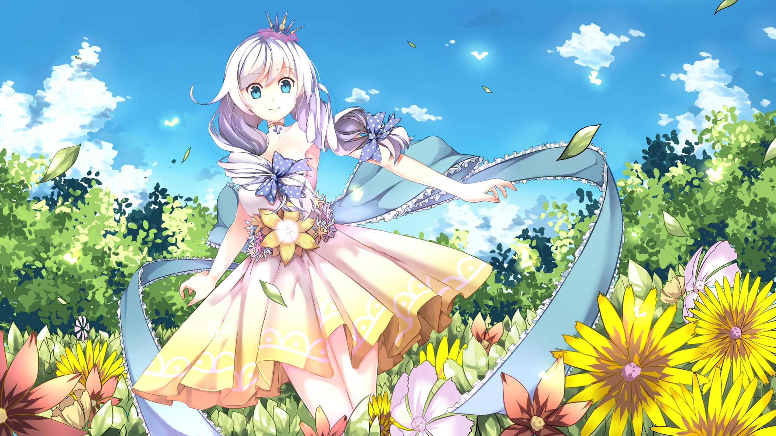 hinh nen anime girl xinh