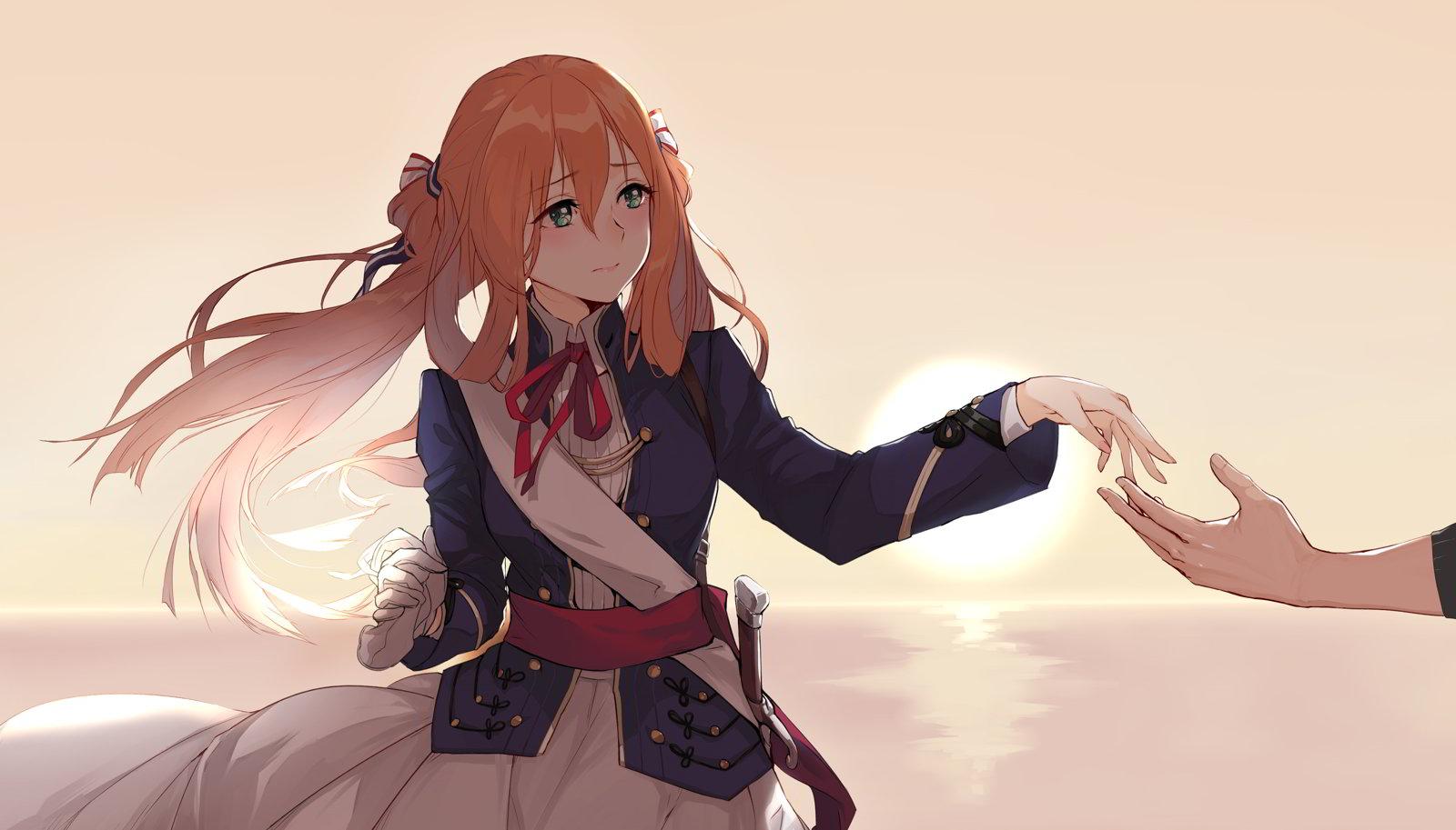 hinh nen anime girl dang yeu 12