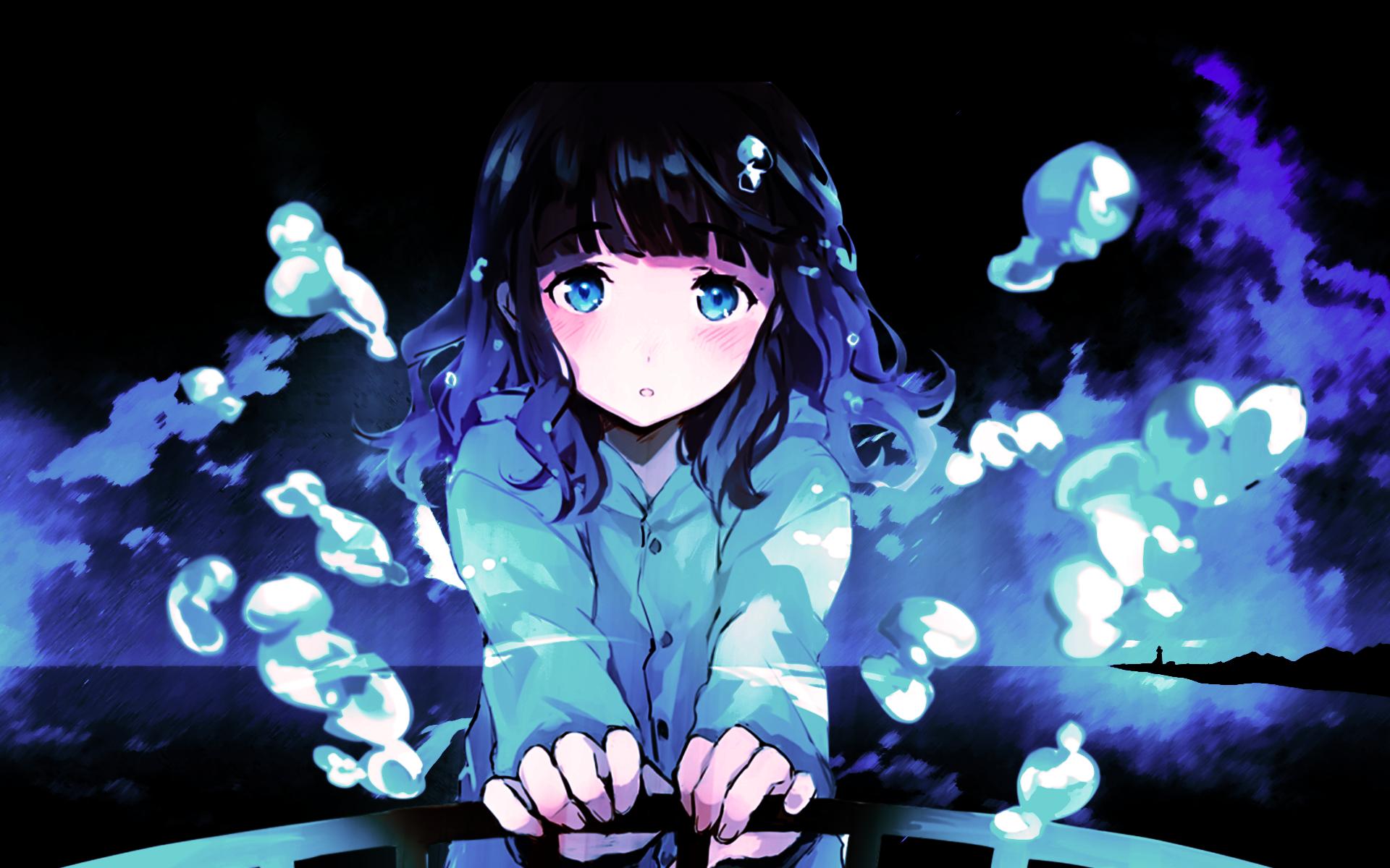 hinh nen anime girl dang yeu 14