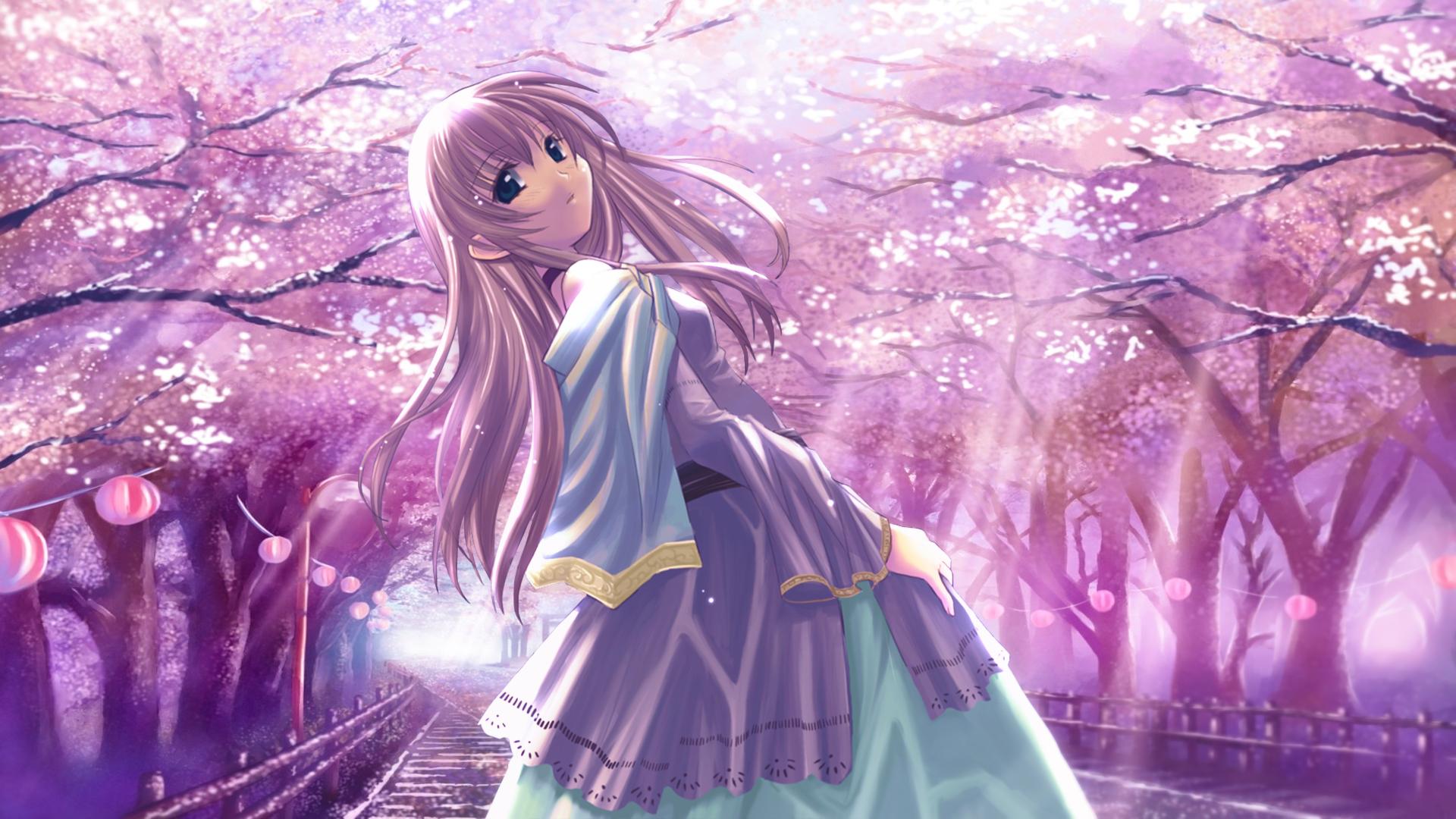 hinh nen anime girl dang yeu 25