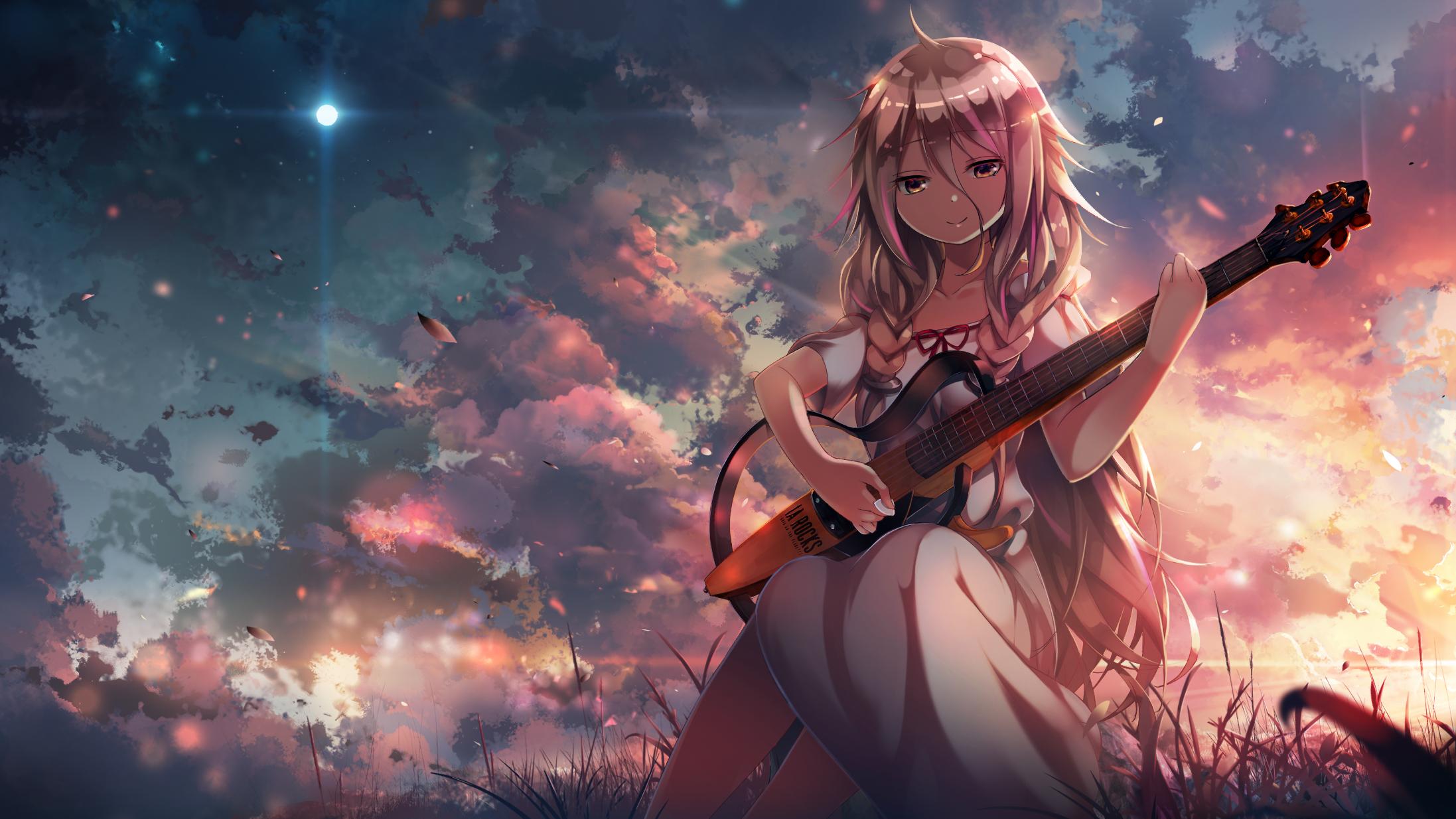 hinh nen anime girl dang yeu 3