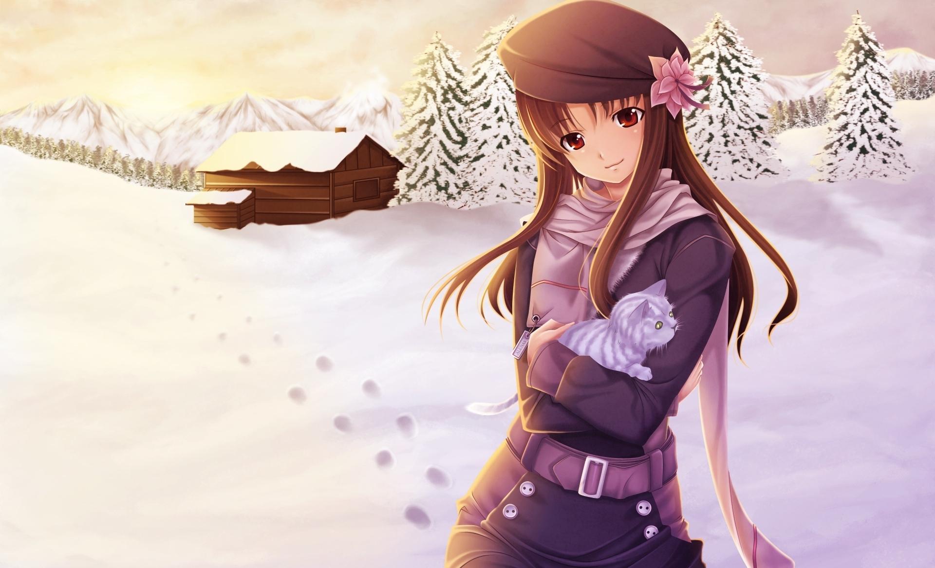 hinh nen anime girl dang yeu 32