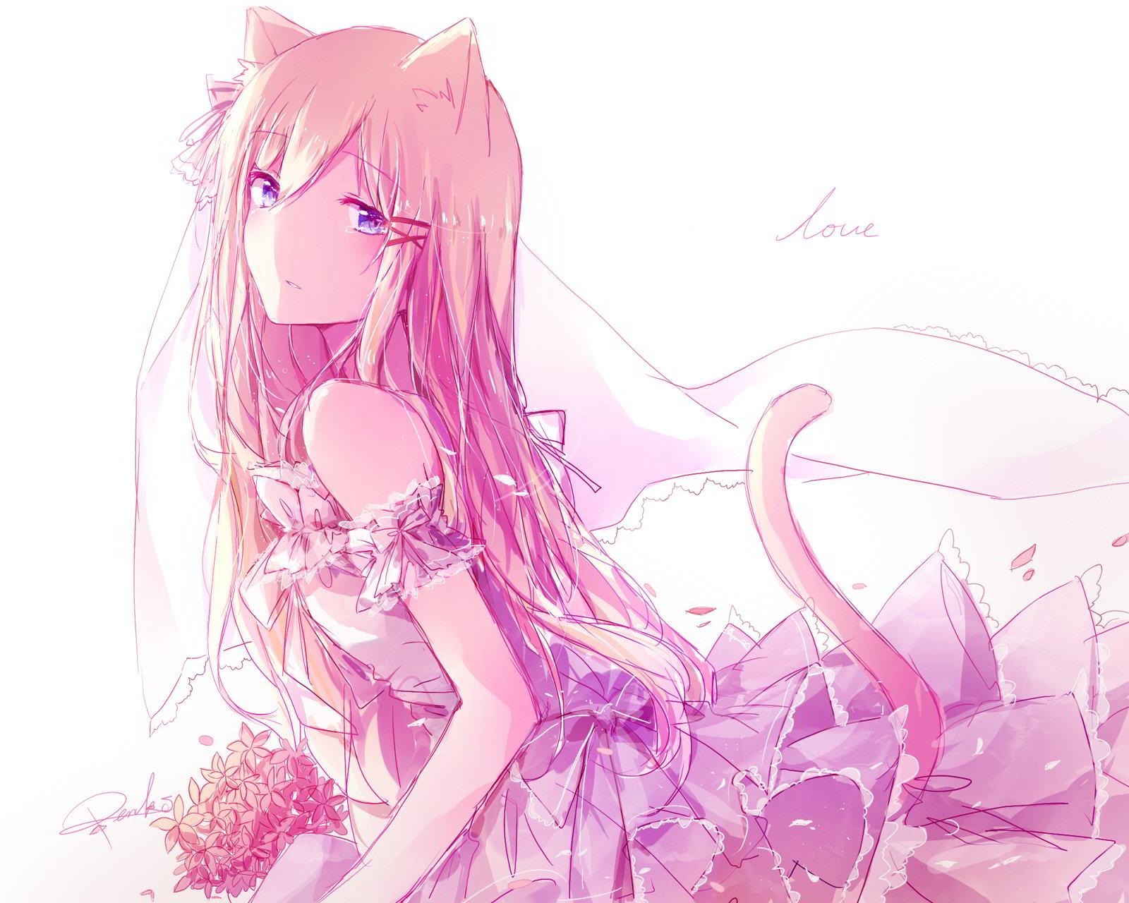 hinh nen anime girl dang yeu 5