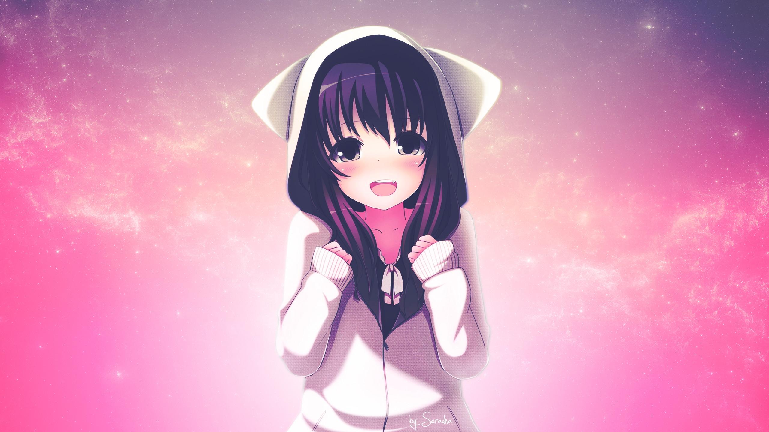 Bộ sưu tập hình nền Anime girl xinh đẹp hút hồn với những cô nàng xinh xắn, nóng bỏng.