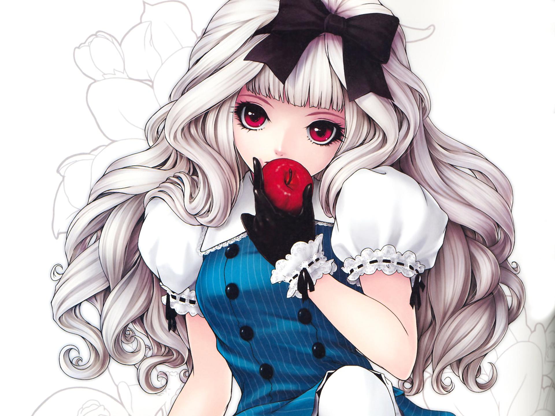 hinh nen anime girl dang yeu 6