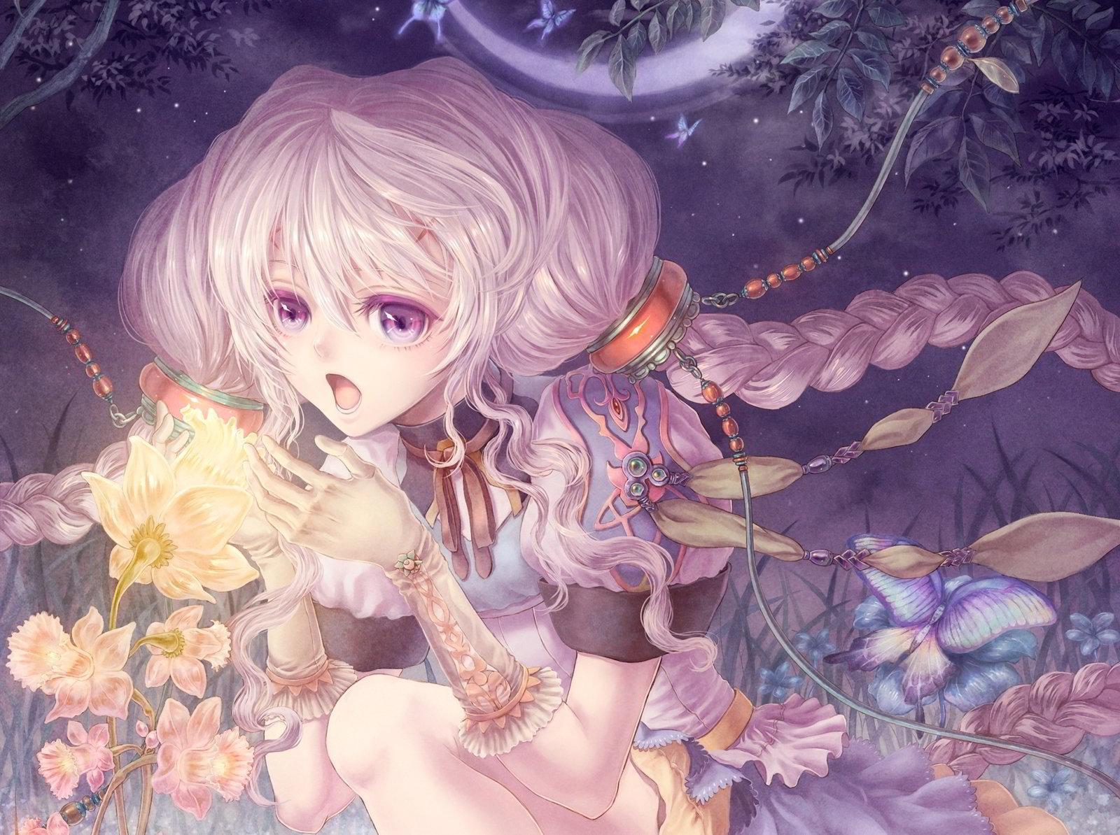 hinh nen anime girl dang yeu 7
