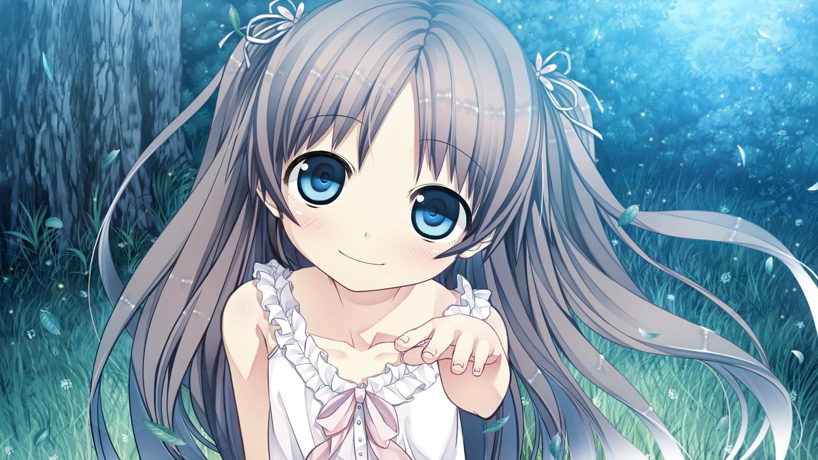 Những hình ảnh Anime girl dễ thương này cũng rất thích hợp để làm Avatar