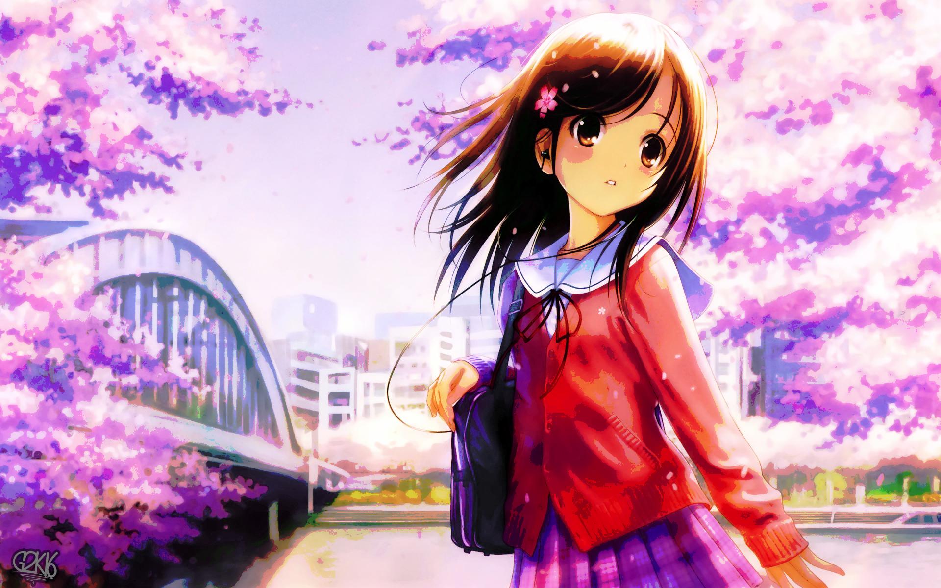 hinh nen anime girl dang yeu 9