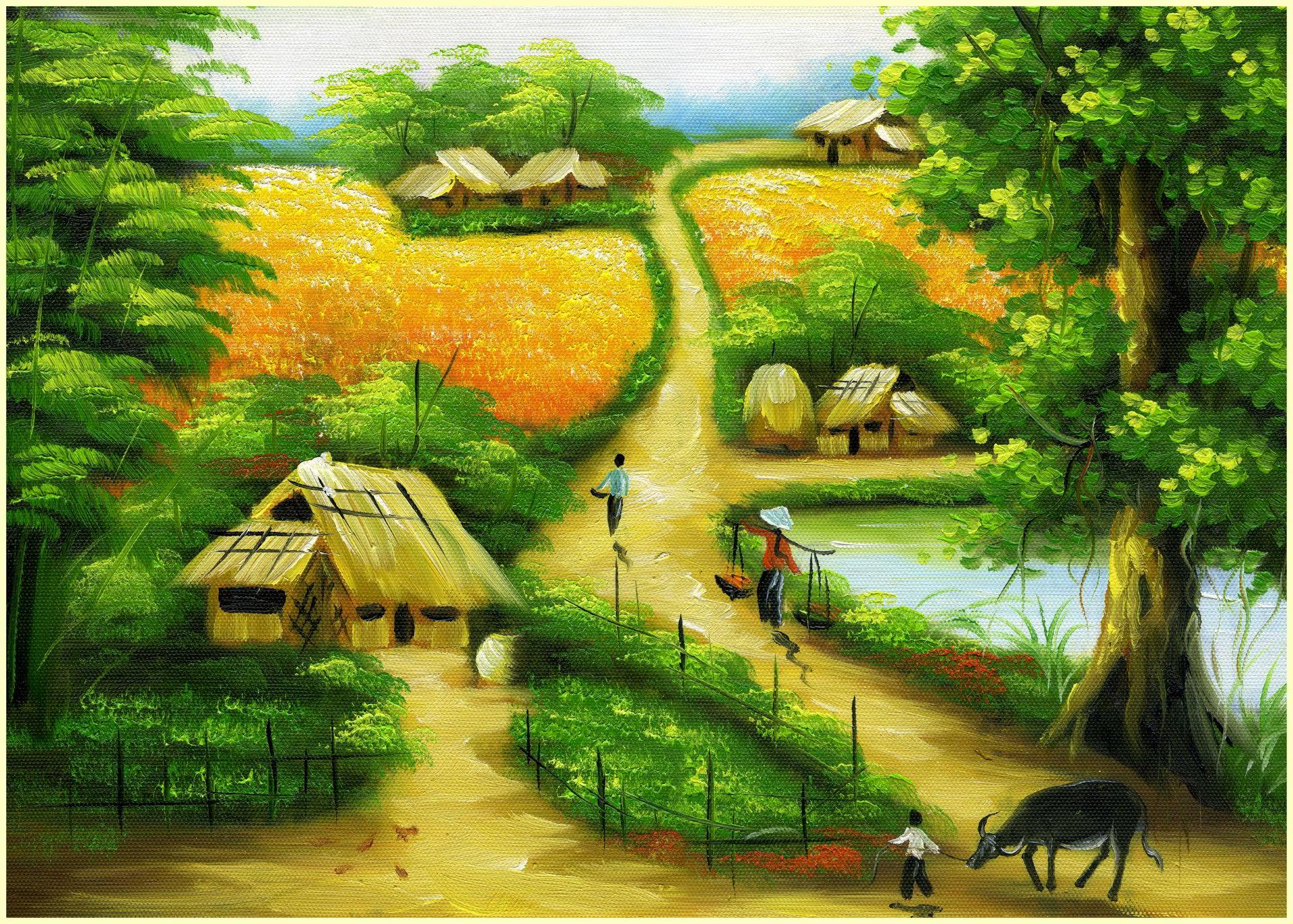 hình ảnh quê hương Việt Nam