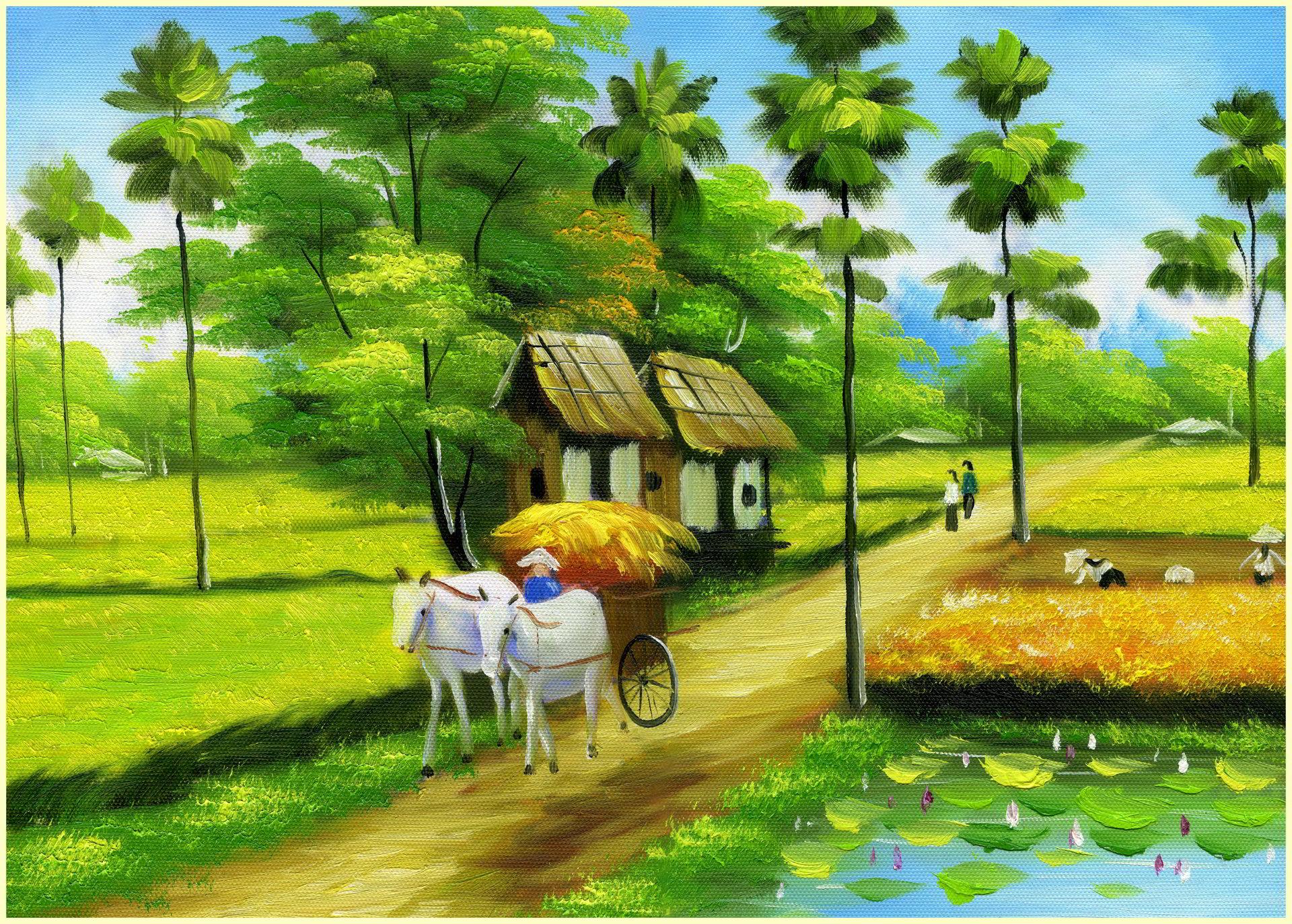 Tải ảnh làng quê đẹp nhất