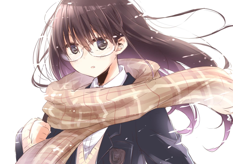 hình ảnh anime girl vô cảm