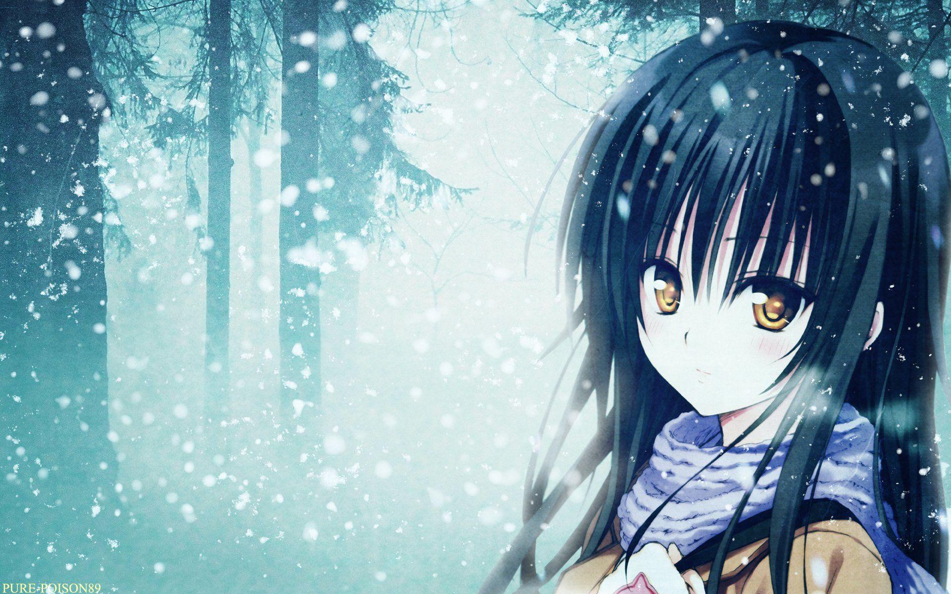 ảnh đẹp anime girl vô cảm