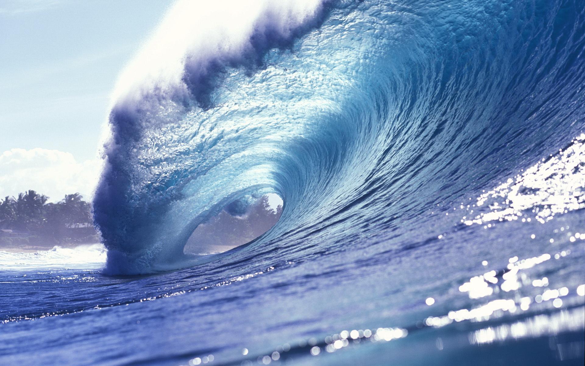 Tải hình nền sóng biển đẹp