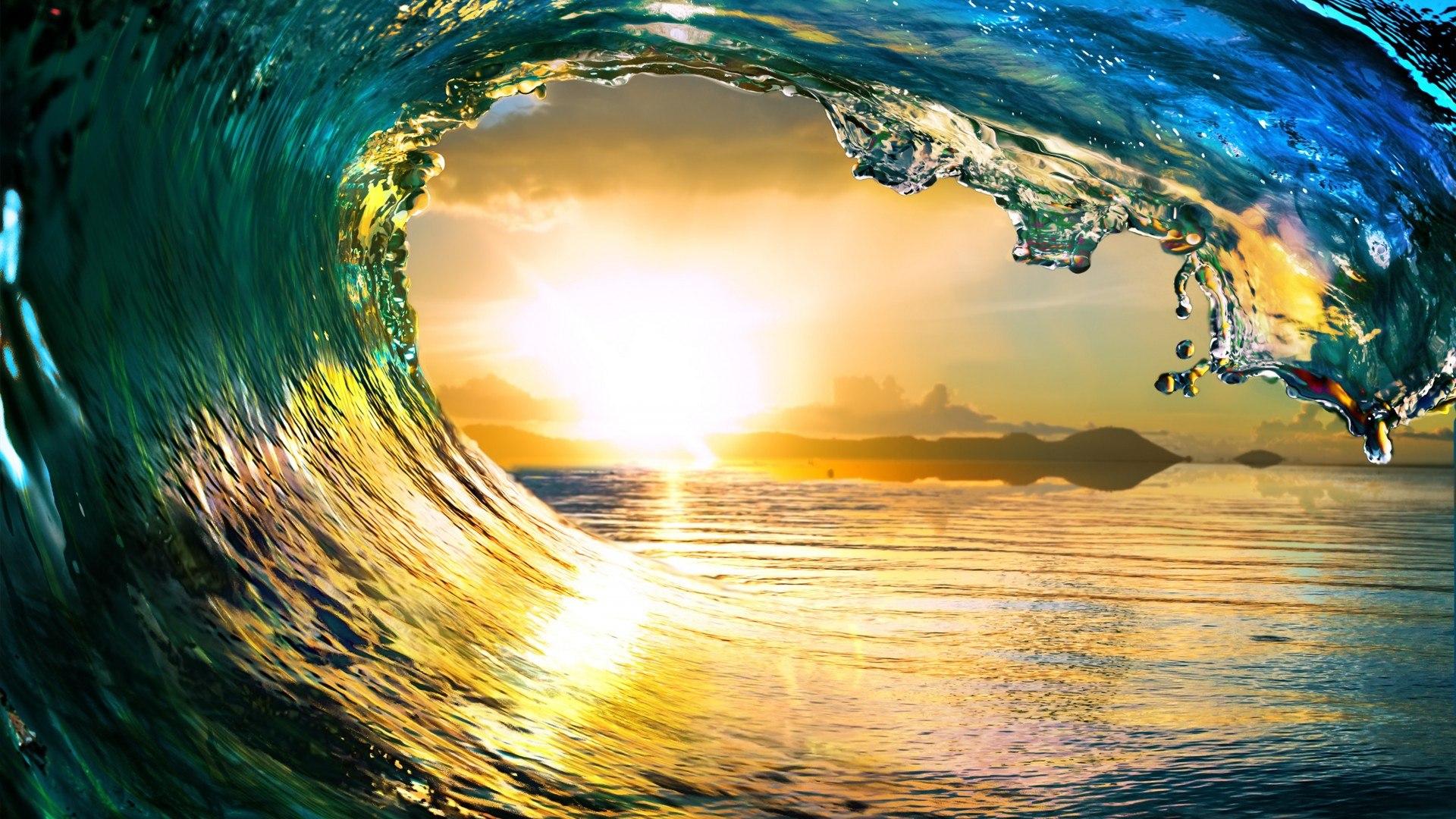 hình nền sóng biển full hd
