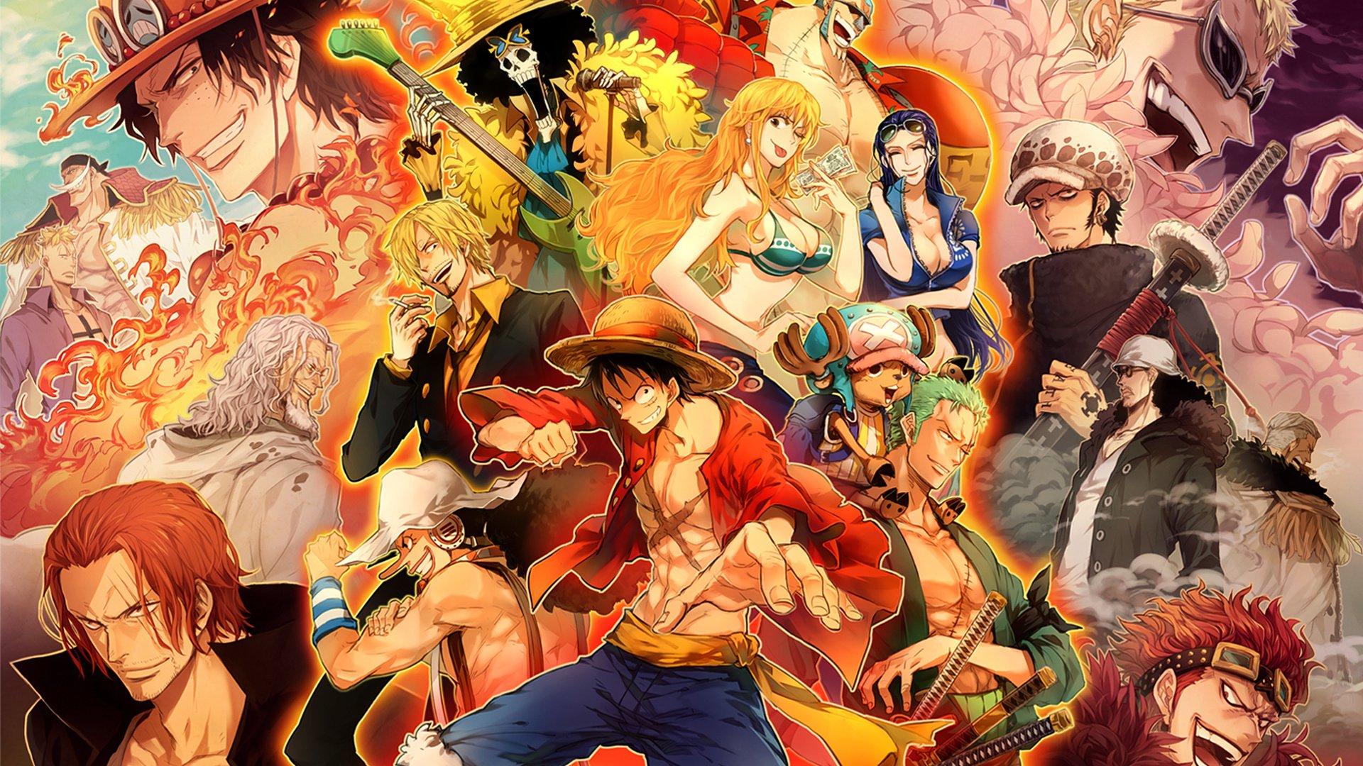 hình nền đẹp của Luffy