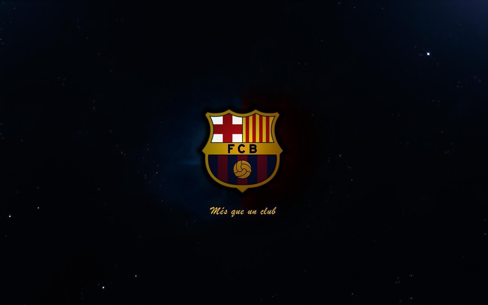 hình nền logo barca HD
