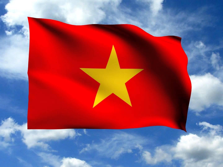 hình ảnh lá cờ VN bay phấp phới