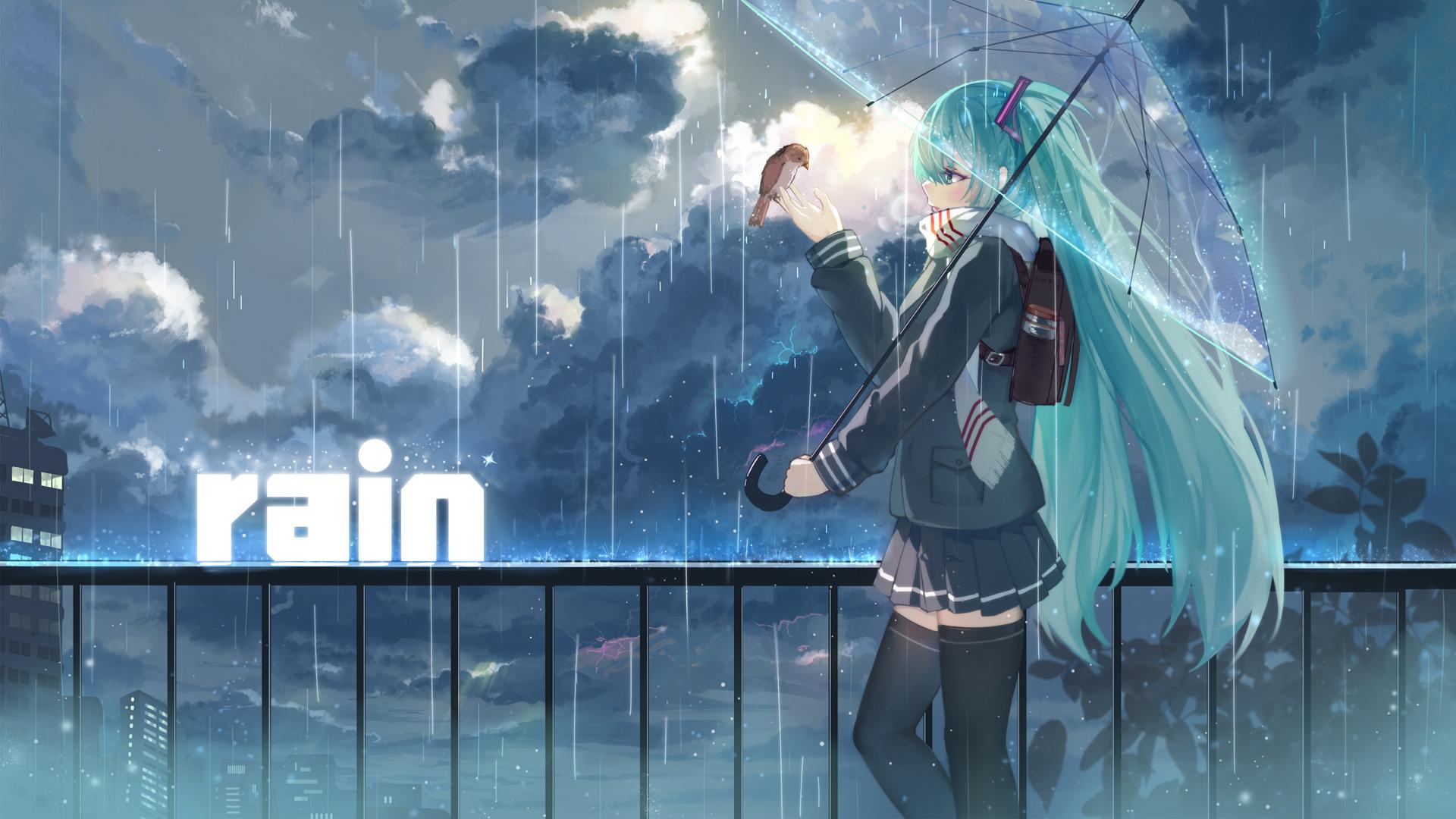 hình ảnh đẹp cơn mưa buồn