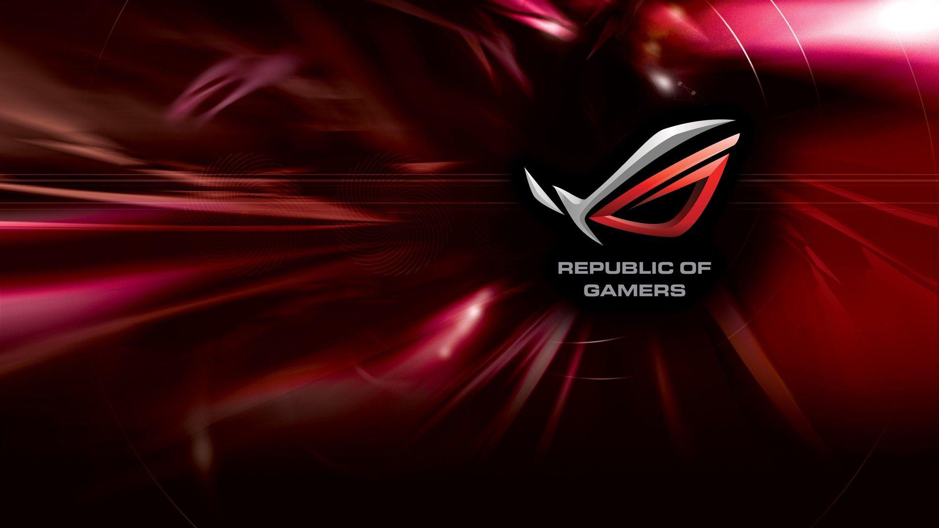 hình nền republic of gamers đẹp