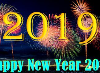 Hình ảnh Happy New Year 2019 pháo hoa lung linh