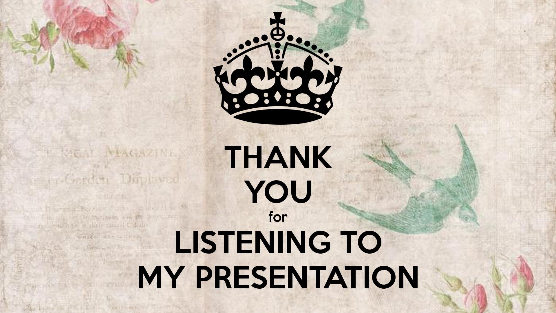 Hình ảnh cảm ơn đã lắng nghe bài thuyết trình powerpoint