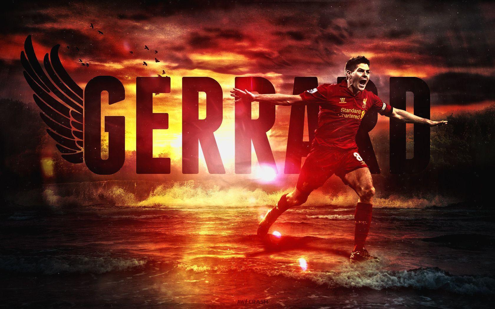 Hình nền đẹp của Steven Gerrard