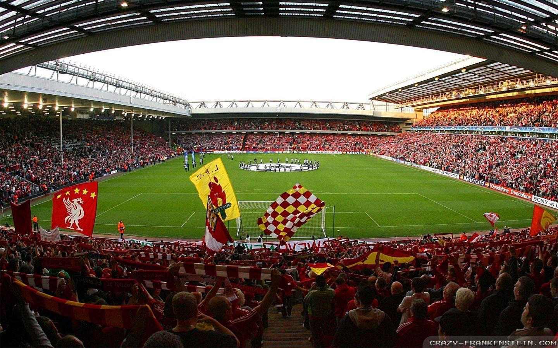 Hình ảnh đẹp sân Anfield Liverpool