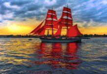 Tải ảnh biển thuyền buồn full HD