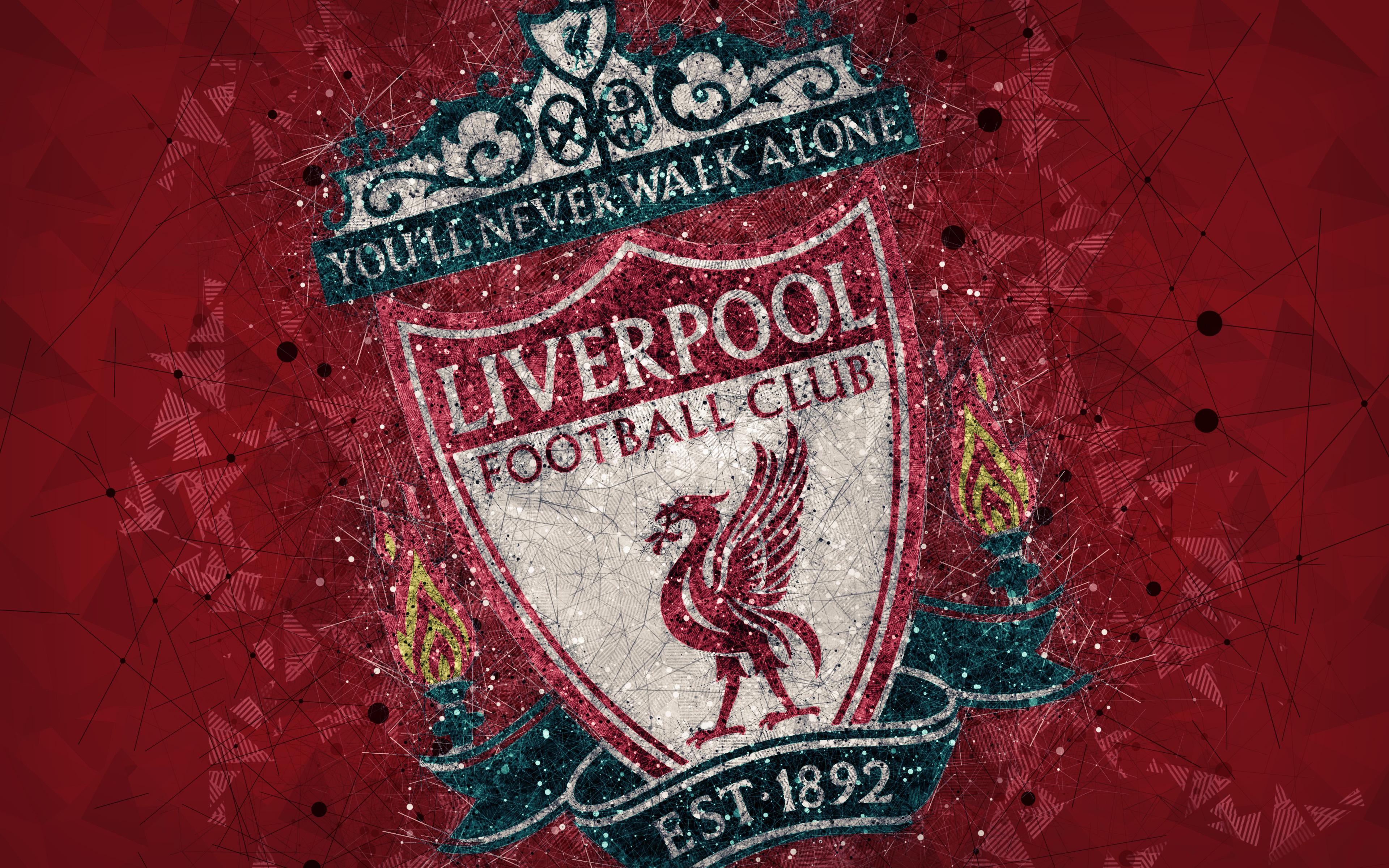 Tải ảnh nền logo clb Liverpool full HD