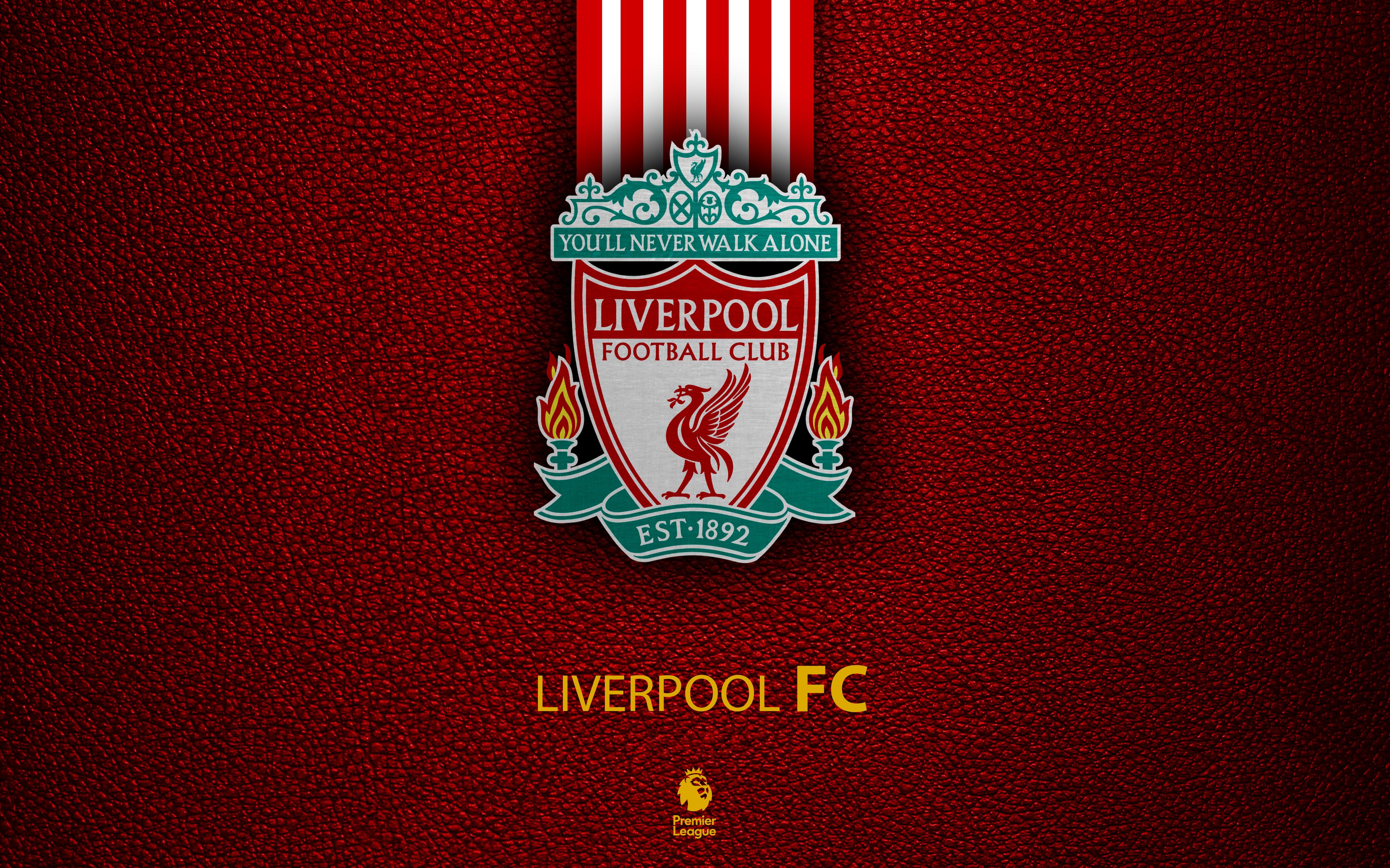 Hình nền logo Liverpool tuyệt đẹp 4k