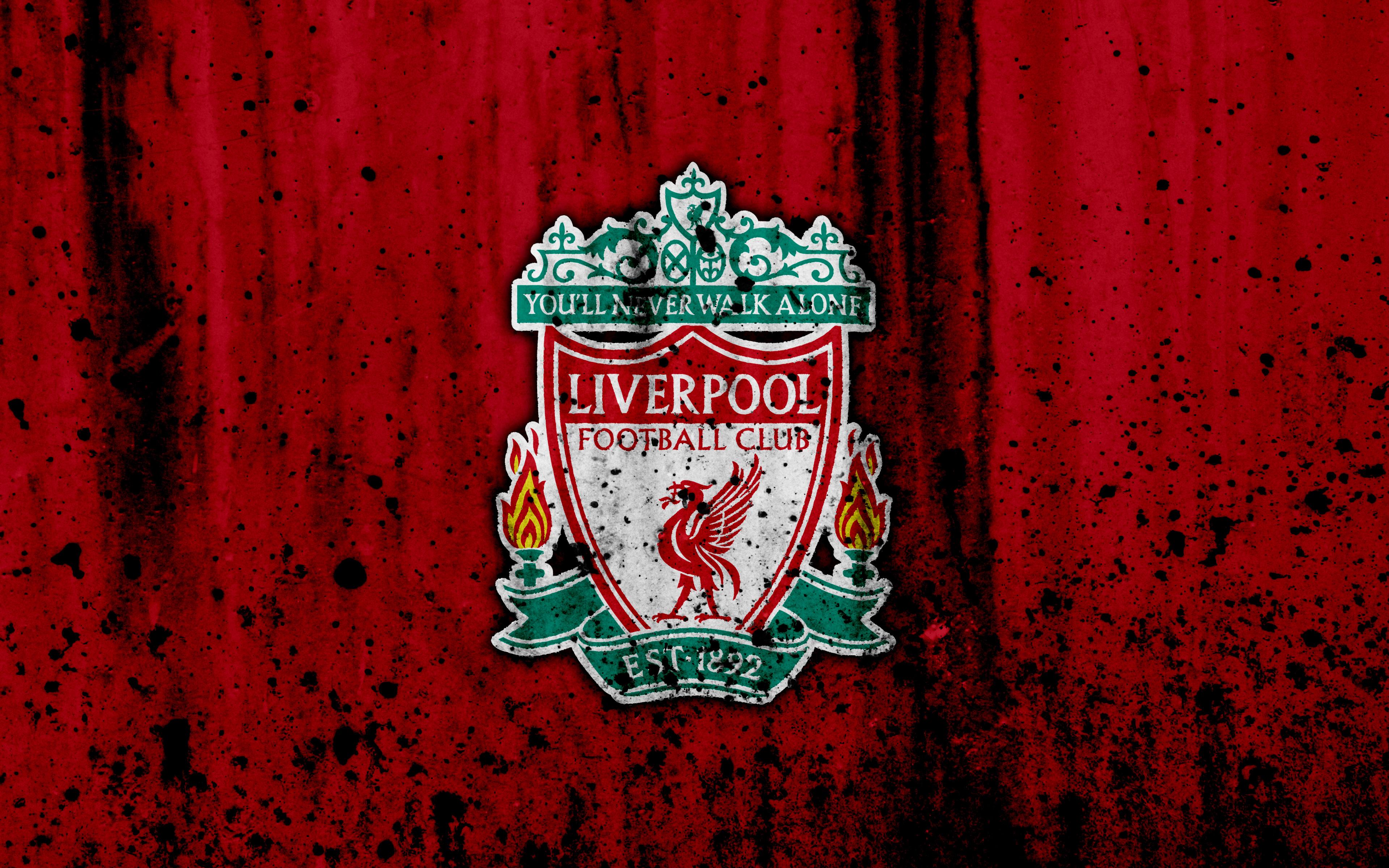 Tải hình nền Logo đội bóng Liverpool