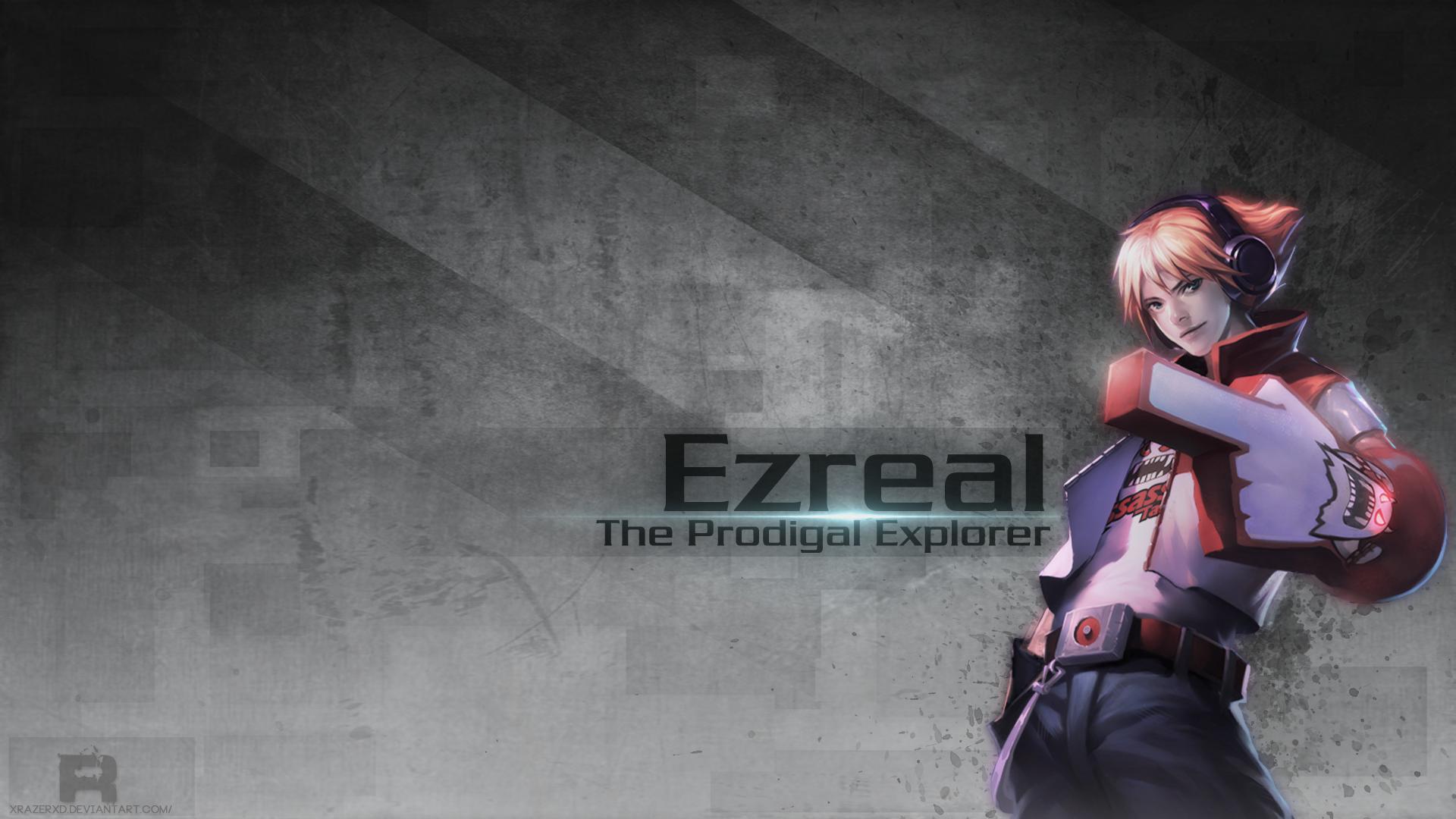 Tải ảnh đẹp của tướng Ezreal liên minh