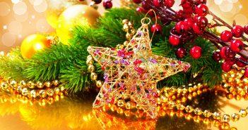 Hình nền ngôi sao giáng sinh đẹp