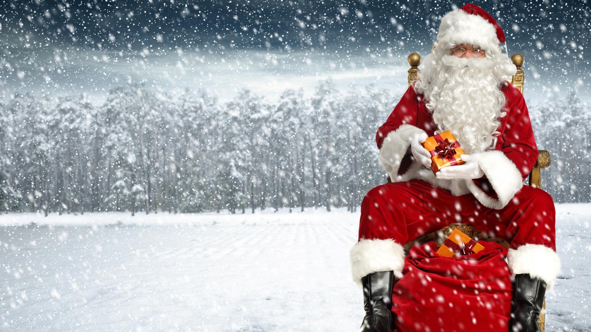 Hình ảnh ông già tuyết Noel