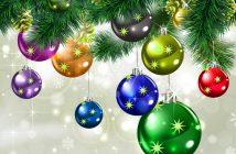 Hình ảnh quả cầu Noel đẹp nhất